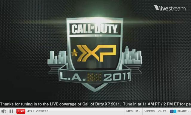 Call of Duty Live Stream