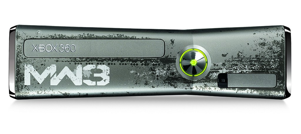 The New COD: MW3 Limited Edition Xbox 360 Console