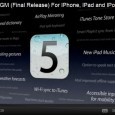 iOS 5 GM (gold mastered) is finally out for developers. What does this mean? Well the iOS GM build is the same software they will release to everyone on the...iOS...