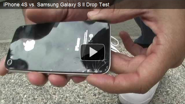 Square Trade Drop Tests the iPhone 4S & the Galaxy S II