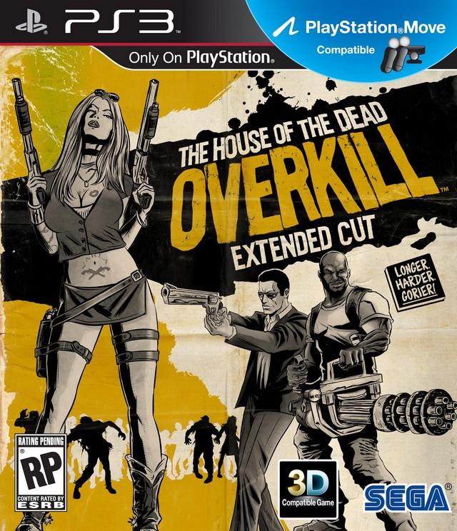 The House of the Dead Overkill Extended Cut Trailer Released