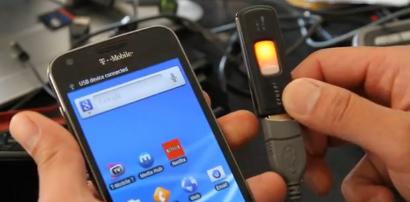 Samsung Galaxy S II USB Host Mod