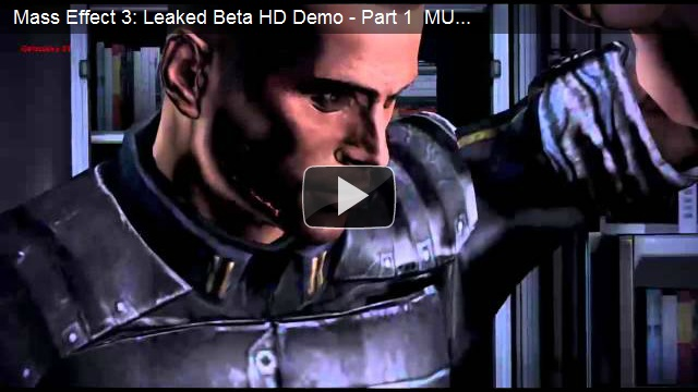 Mass Effect 3 Beta Leaked on Xbox 360