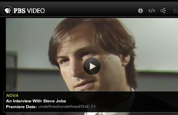 Rare Interview with Steve Jobs at PBS (1990)