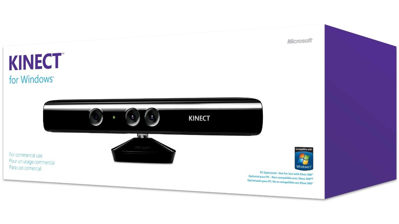 Microsoft Kinect Sensor Coming to PC February 1st