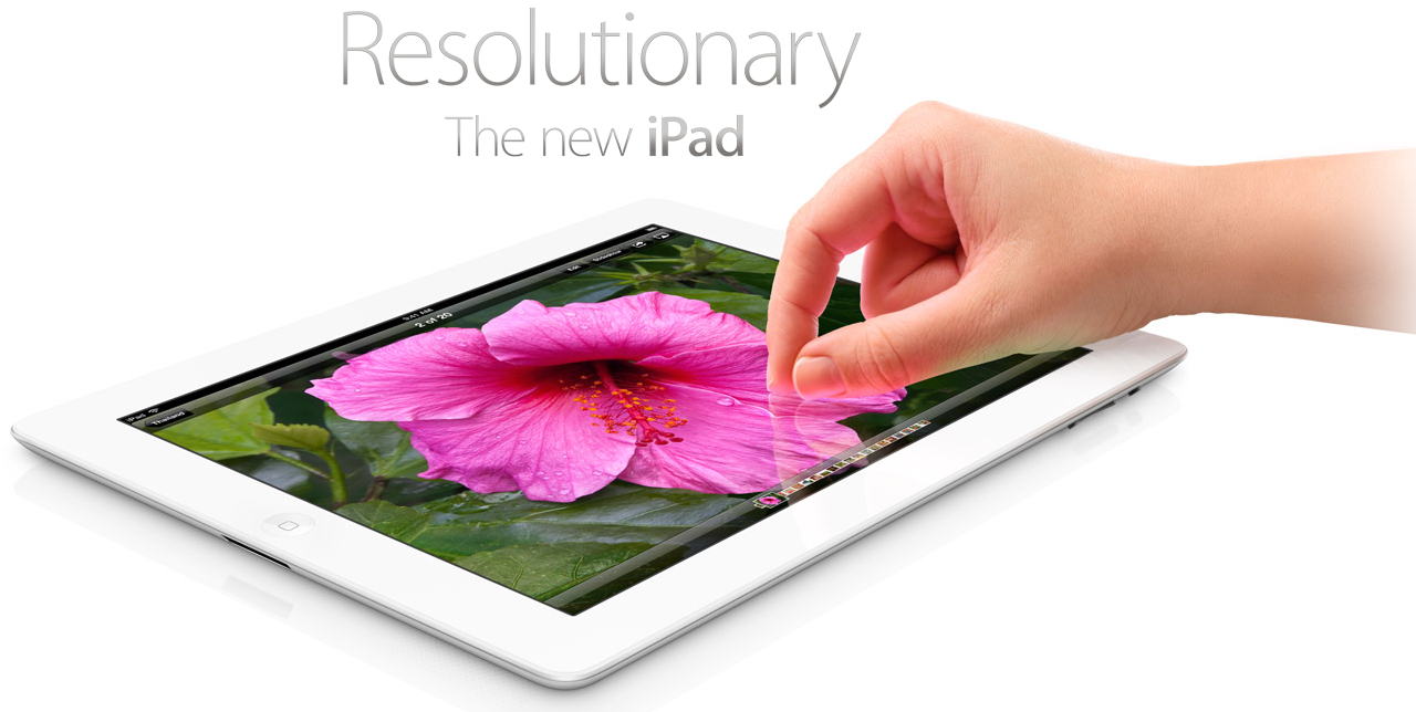 iPad HD Revealed – Resolutionary