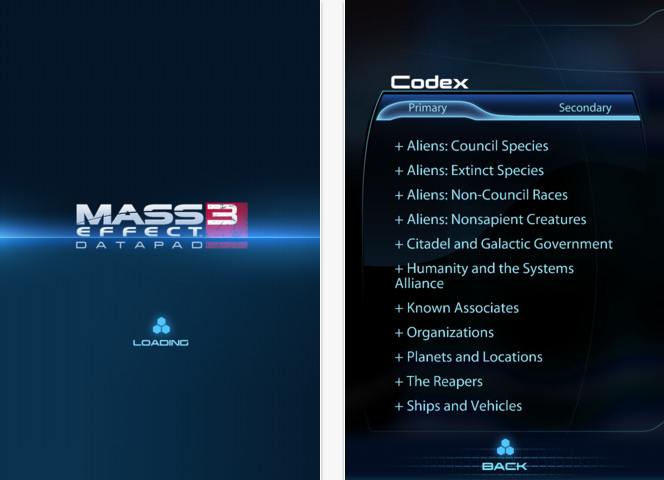 Mass Effect 3 Datapad App is Free