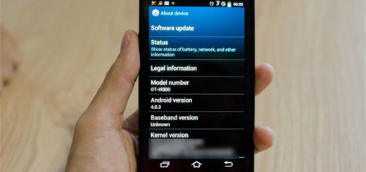 Galaxy S III Front