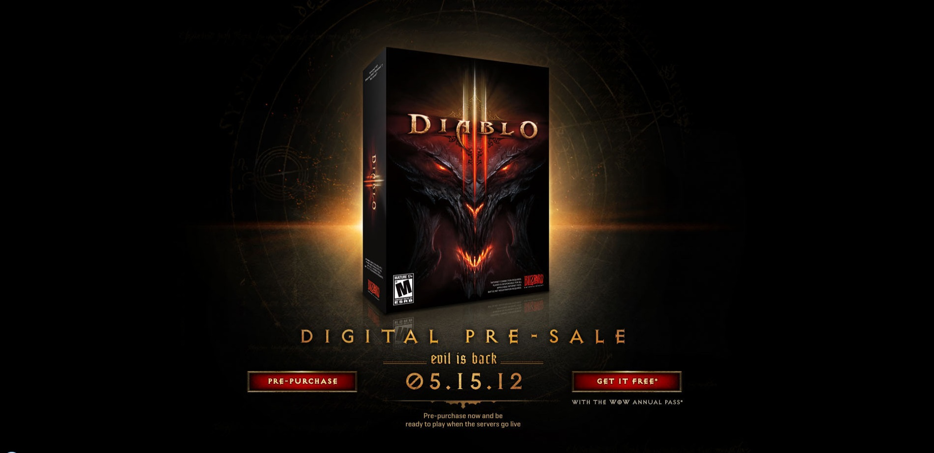 Pre-Orders Available for Diablo III, Not Collectors Edition?