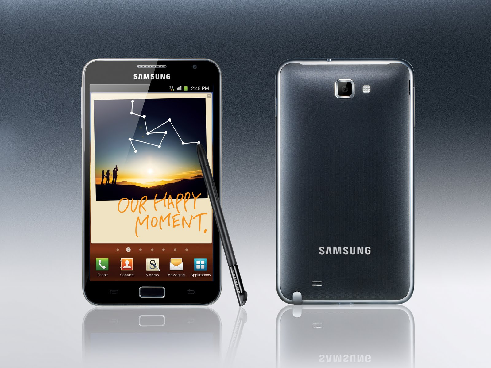 Samsung Galaxy Note (AT&T) Gets Android 4.0