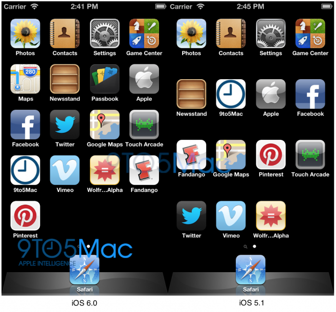 iOS 6 Supports Larger Display – 4-inch iPhone 5