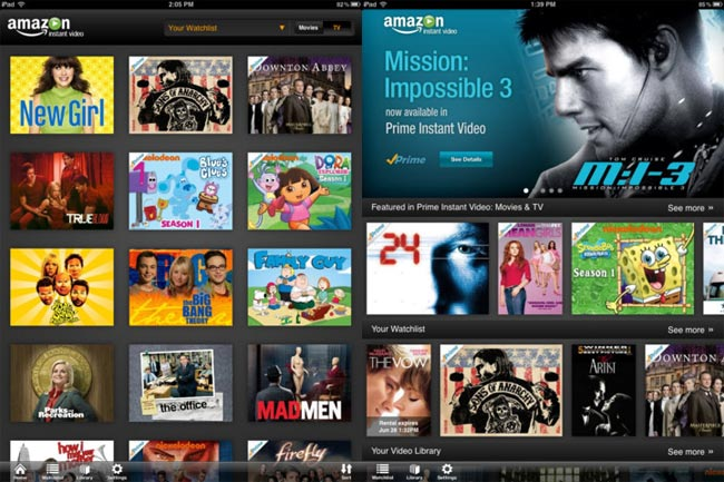 Amazon Instant Video Comes to the iPad