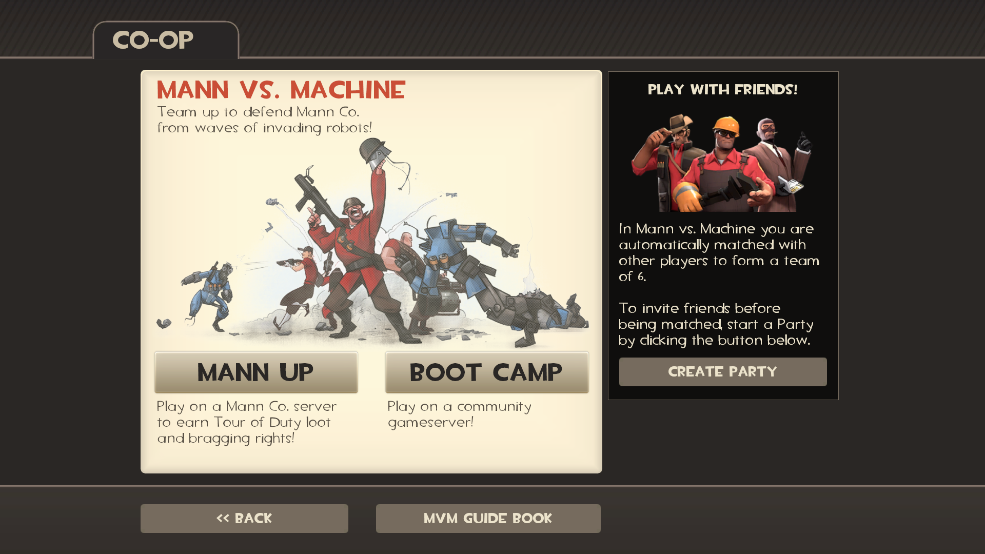 Team Fortress 2 Mann vs Machine Update Rolls Out