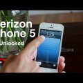 Verizon iPhone 5 Comes Unlocked to Work With GSM SIM Cards