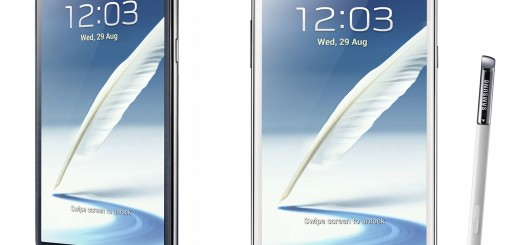 Samsung Galaxy Note II Side-by-side