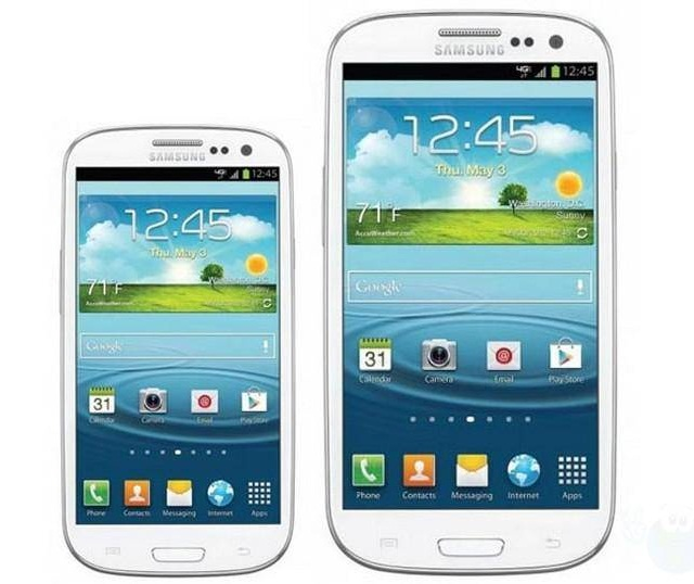 Samsung Announces Galaxy S III Mini