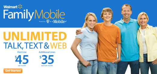 Walmart Family Mobile November Promotion