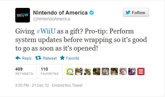 Wii U Firmware Update