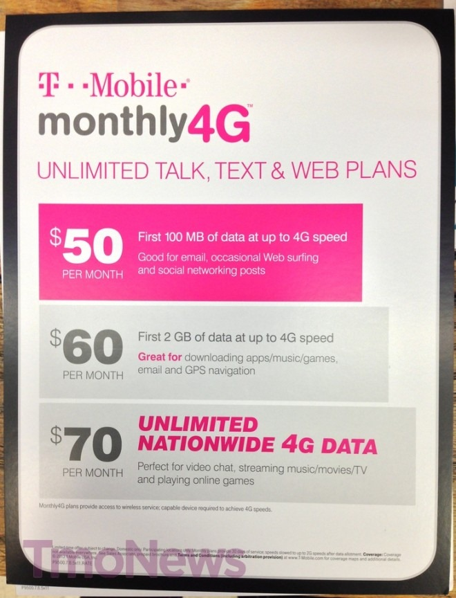 T-Mobile Prepaid Gets Some Nice Refreshes – $70 Unlimited Data, LG Optimus L9, Aspect 3G