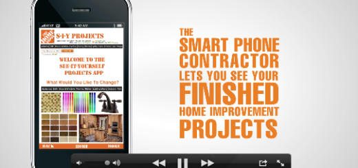 Home Depot iPhone video