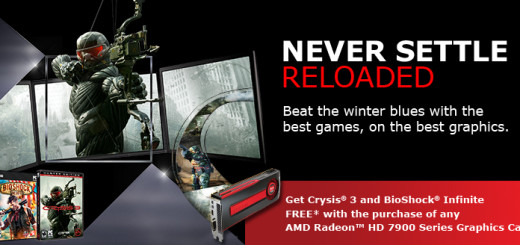 Never Settle Reloaded AMD HD 7900