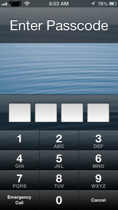 iPhone Lockscreen Can Be Bypassed in iOS 6.1 in 3 Seconds