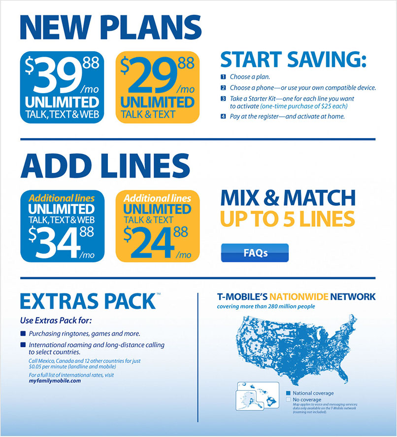 Walmart Updates Family Mobile Plan – Lowers Price, Increases Data