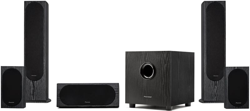 Excellent Deal on Pioneer Home Theater Speakers, 50% Off