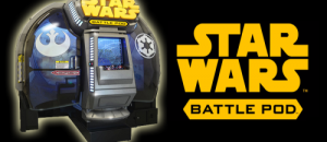 Star Wars Returns to the Arcade with Battle Pod