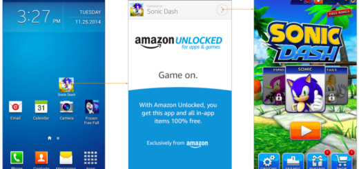 Amazon Unlocked - App Launch Process. Image Credit: TechCrunch