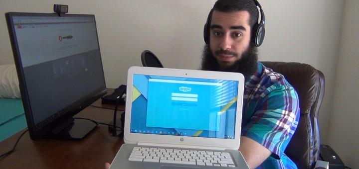 How to Use Skype on a Google Chromebook