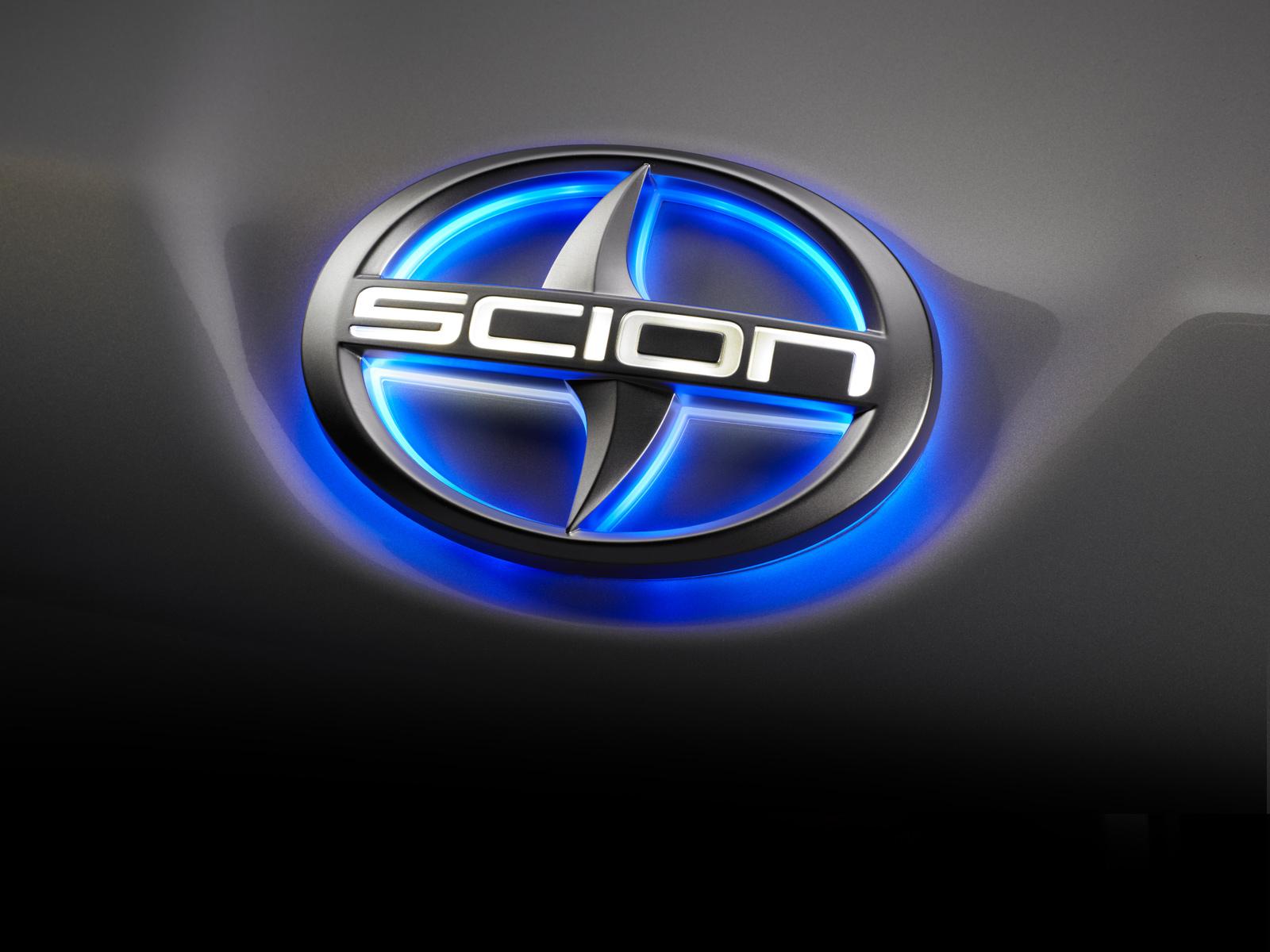 Scion Logo Blue LED